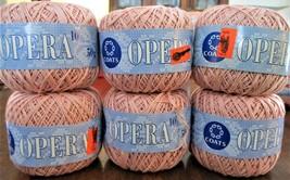 NWT  6 Coats Opera 50g / 230 m Vintage Crochet Thread - ₹422.90 INR