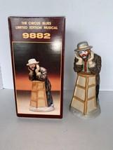 "Vintage Emmett Kelly Jr. Music Box ""Why Me"" Flambro Ltd Ed. #8819/12000 ... - $22.50"