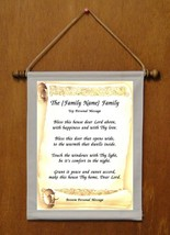 The {Family Name} Family - Personalized Wall Hanging (462-8) - $18.99