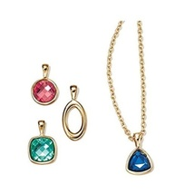 Avon Spice Modern 4 Piece Interchangeable Necklace Set - $12.99
