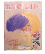 Vintage Sheet Music (Baby Rose) My Moonlight Pal,by Bob Sear Walter Wils... - $19.00