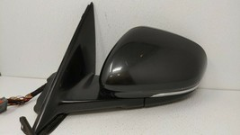 2010-2015 Jaguar Xf Driver Left Side View Power Door Mirror Black 74711 - $225.75