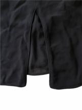 Giorgio Armani Women Black Silk Halter Blouse Top Size 48 Made in Italy image 6