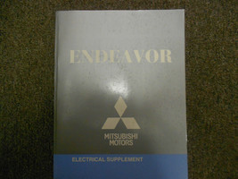 2010 MITSUBISHI Endeavor Electrical Supplement Service Repair Shop Manual FEO - $45.10
