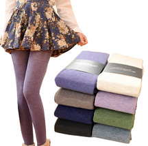 Women Winter Spring Cashmere Stockings Warm Wool Tights Pantyhose Seamle... - $16.99