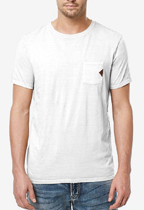 Primary image for Buffalo David Bitton Men's Cotton Taluk T-Shirt , White, Size XXL, MSRP $29