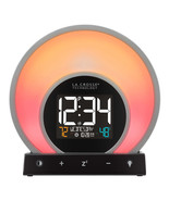 NEW La Crosse Soluna Mood Light Alarm Clock Model C79141-INT **FREE SHIP... - $46.99