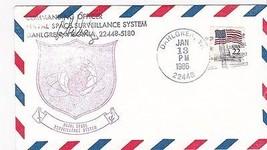 Naval Space Surveillance System Dahlgreen, Va 1/13/1986 Signed - $1.98