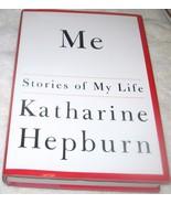 Me Stories Of My Life par Katharine Hepburn 1991, Couverture Rigide U.S.A - $10.74