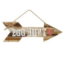 Darice Easter Decor - Egg Hunt Wood Slat Arrow Sign 19-inch - $19.95