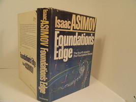 Asimov Foundations Edge First Edition Book 1982 HC/DJ 4th in Foundation ... - $7.47