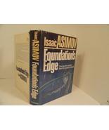 Asimov Foundations Edge First Edition Book 1982 HC/DJ 4th in Foundation ... - $7.47