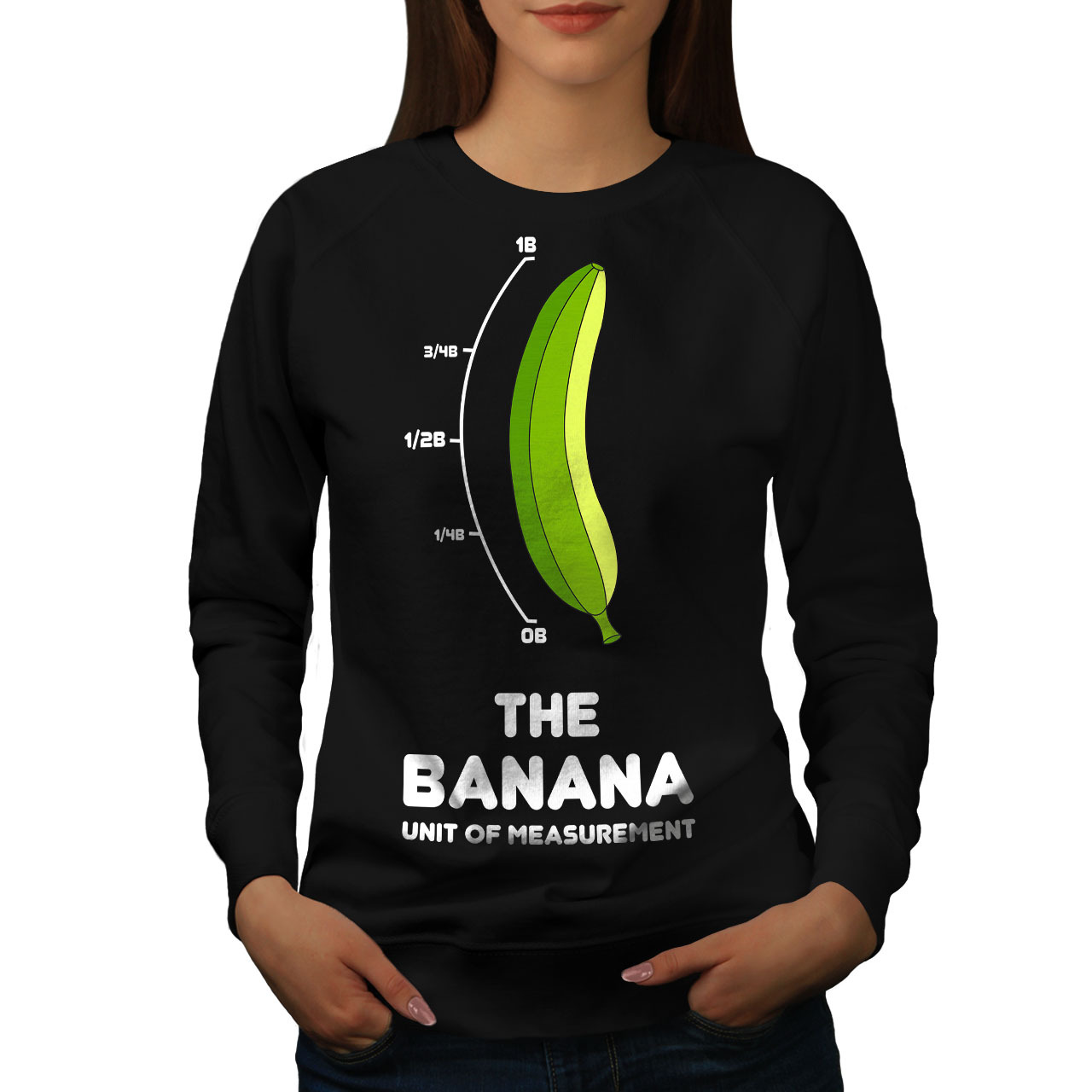 Primary image for Banana For Scale Jumper Internet Women Sweatshirt