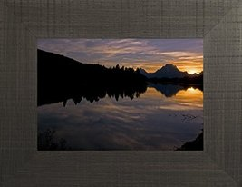 Oxbow Sunset By Todd Thunstedt 20x26 Mountain Cross Savior Easter Resurr... - $69.00