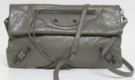 New Balenciaga Arena Classic Envelope Strap Clutch Messenger Bag - $880.04
