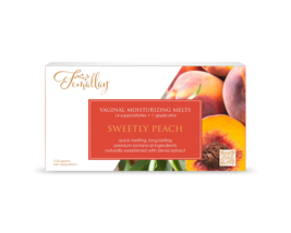 Sweetly Peach Vaginal Moisturizing Suppositories - $13.99