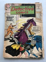 Detective Comics (1937 1st Series) #250 Cover Detatched Brittle Spine Split - $49.50