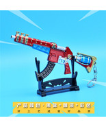 Fortnight Battle Royale Gun Keychain Toy Metal Action Figure Model Gun T... - $13.89