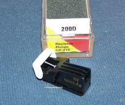 EV 200D TURNTABLE CARTRIDGE NEEDLE for PHILI​PS GP-214 Philips GP-215 EV 200D image 3