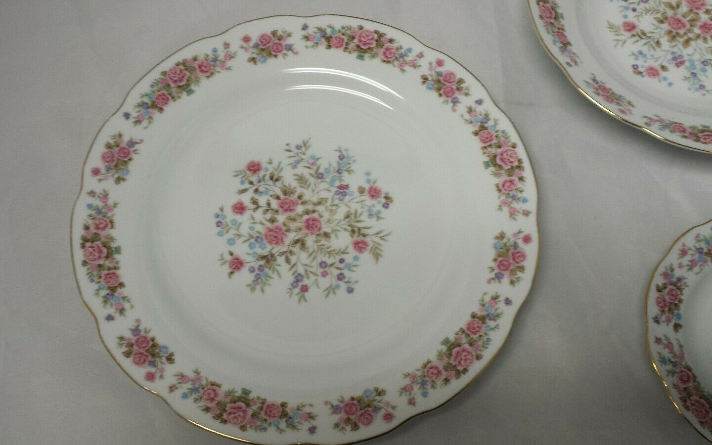 Remington Fine China: Spring Garden by Red Sea, Plate, Soup Bowl, Tea Cup Saucer image 2