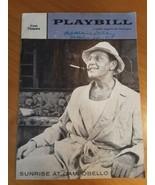 Playbill Sunrise At Campobello~ Ralph Bellamy~ Mary Fickett, Henry Jones... - $12.86