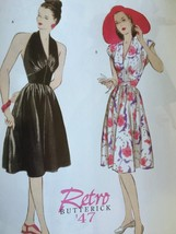 Butterick Sewing Pattern 5209 Misses Retro 1947's Dress Size 6-12 New Vi... - $16.11