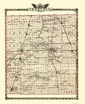 Iroquois Illinois Landowner - Warner 1870 - 23 x 28.22 - $36.95+