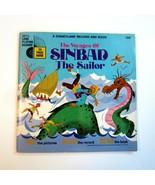 Vintage 1971 Walt Disney Disneyland Voyages of Sinbad the Sailor Book an... - $9.99