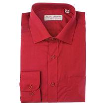 Alberto Cardinali Men's Tailored Fit Long Sleeve Wrinkle Resistant Dress Shirt image 12