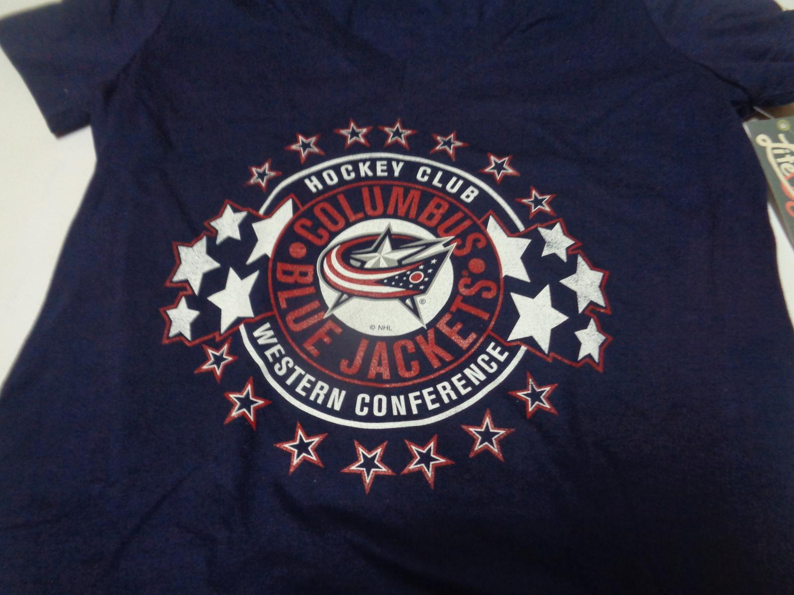 Hockey Club NHL Western Conference T-Shirt NWT Women's Adult XL