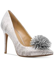 MICHAEL Michael Kors Lolita Pumps Shoes Silver Mult Sz - $99.99