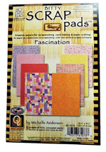 Bitty Scrap Pads, Fascination by Michelle Anderson, 32 Sheets