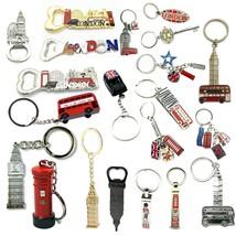 Union Jack Keyring Opener I Love British Icons Souvenir Key chain Englan... - $2.46+