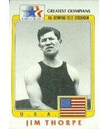 Jim Thorpe Greatest Olympians Card (Pentathlon & Decathlon) 1983 Topps #37 - $5.00