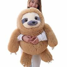 Winsterch Giant Sloth Stuffed Animal Toy Plush Sloth Gift Baby Dolls Bir... - $48.07
