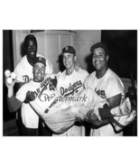 MLB Brooklyn Dodgers Robinson Reese Campanella & Snider 8 X 10 Photo Picture - €5,14 EUR