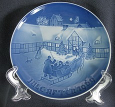 Bing & Grondahl Annual 1969 Arrival Of Christmas Guests Collector Plate ... - $21.95