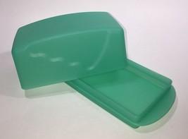 Tupperware Impressions Butter Dish 1 lb Size Sea Green - $14.01