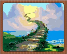 "Abstract Road 16X20"" Paint By Number Kit DIY Acrylic Painting on Canvas ... - $8.90"