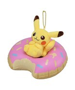 Pokemon Center Original Mascot Donut Pikachu of a Floating Ring - $753,39 MXN