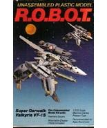 Testors ROBOT 1/200 Macross Super Gerwalk Valkyrie VF-1S Model Kit 1985 ... - $14.50