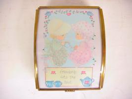 Handcrafted Samuel J. Butcher Precious Moments Box 1992 Friendship Hits ... - $17.99