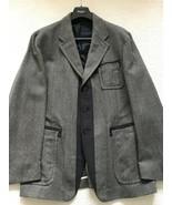 "Paul Smith MAINLINE Casual Grey Tweed Jacket size 42/44 p2p 22.5"" - $664.65"