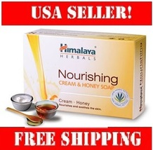 Himalaya Nourishing Cream & Honey Soap 125g for skin moisturizing and re... - $8.49
