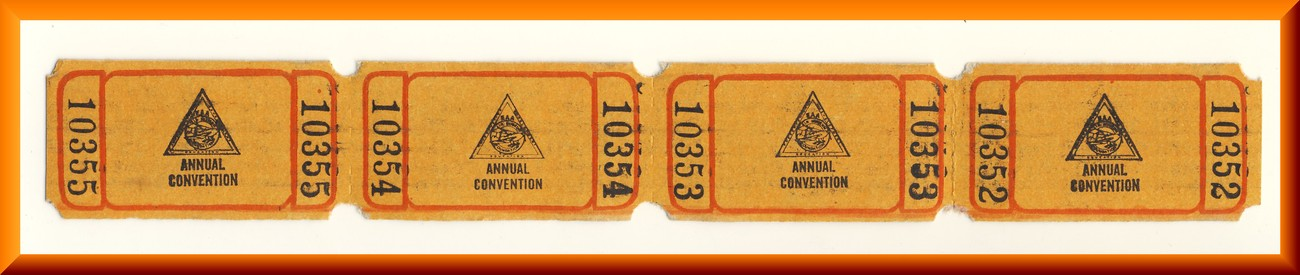 Annual convention tickets