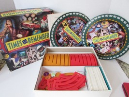 MILTON BRADLEY 4200 TIMES TO REMEMBER GAME 1991 COMPLETE - $13.71
