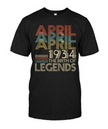 APRIL Retro Classic Vintage 1934 Awesome 84 Years Old Being - $17.99+