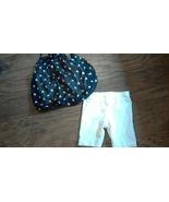 George toddler girls chiffon black polka dots top short set  3T - $2.50