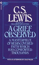 A Grief Observed C.S. Lewis and Chad Walsh - $5.06