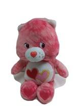 Care bears Love-a-lot Bear Tye Dye Special Edition 2003 Pink Hearts - $24.50